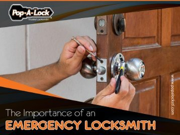 Why Hire Emergency Locksmith Services