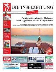 Die Inselzeitung Mallorca August 2016
