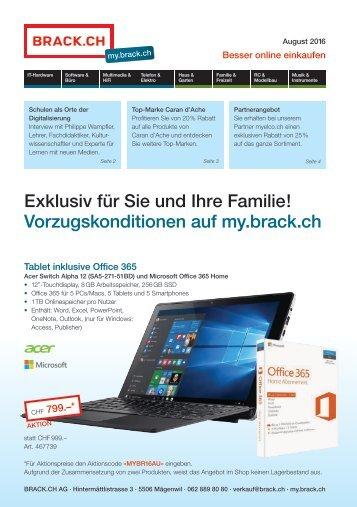 my.brack.ch – Flyer August 2016