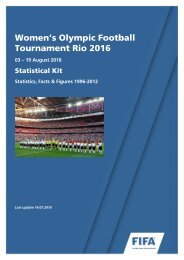 Women's Olympic Football Tournament Rio 2016