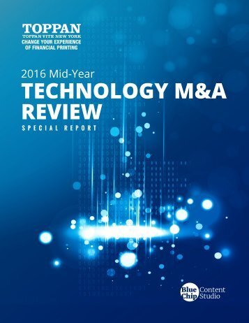 TECHNOLOGY M&A REVIEW