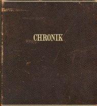 Chronik 1938 bis 1985