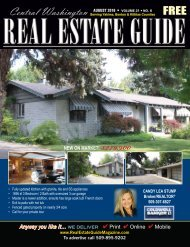 Central Washington Real Estate Guide AUG 16