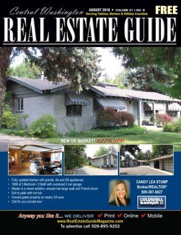 Central Washington Real Estate Guide AUG 16
