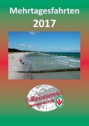 VS-Reiseservice Mehrtagesfahrten 2017
