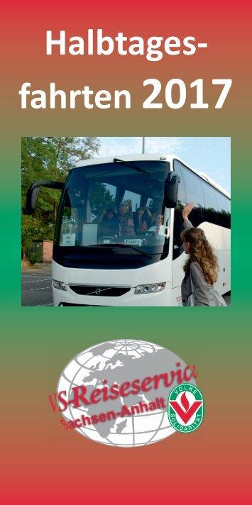 VS-Reiseservice Halbtagesfahrten 2017