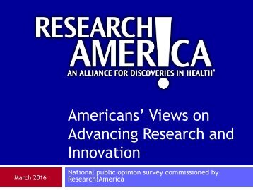 Advancing Research and Innovation