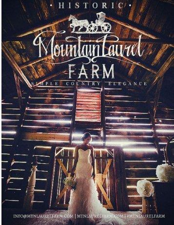 Mountain Laurel Farm Brochure