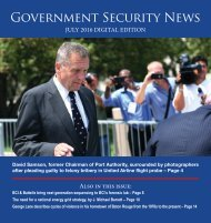 Government Security News July 2016 Digital Edition