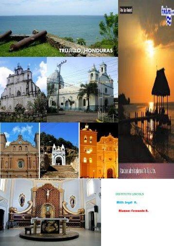 Revista lugares coloniales de Honduras