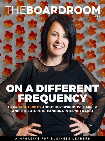The Boardroom Magazine - Issue 1