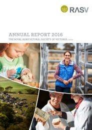 2016 RASV Annual Report