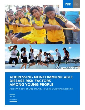 ADDRESSING NONCOMMUNICABLE DISEASE RISK FACTORS AMONG YOUNG PEOPLE