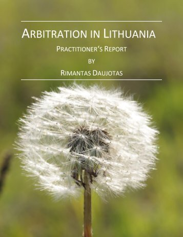 ARBITRATION LITHUANIA