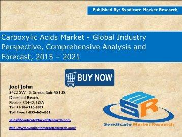 Carboxylic Acids Market