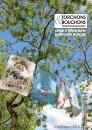 Catalogue Torchons & Bouchons 2016