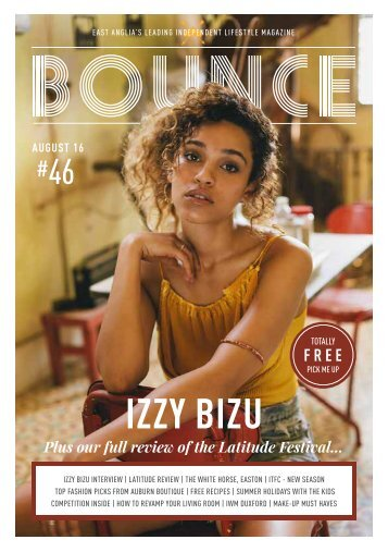 Bounce Magazine August Edition 2016