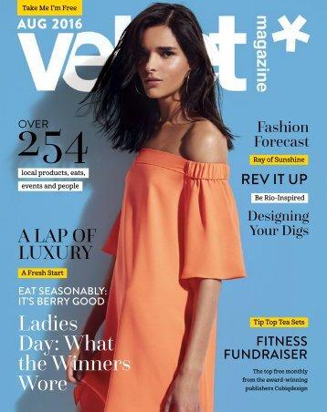 Velvet Magazine August 2016