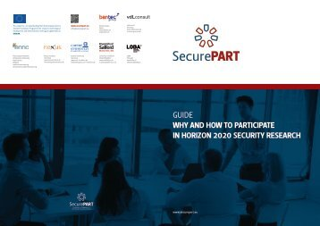 GUIDE WHY AND HOW TO PARTICIPATE IN HORIZON 2020 SECURITY RESEARCH