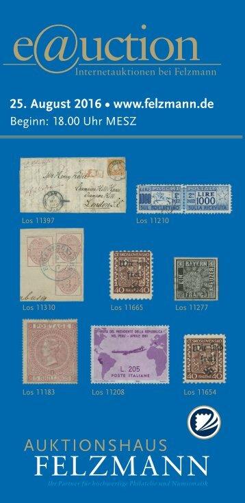 Auktionshaus Felzmann - Auktion-1010