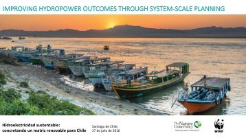 IMPROVING HYDROPOWER OUTCOMES THROUGH SYSTEM-SCALE PLANNING