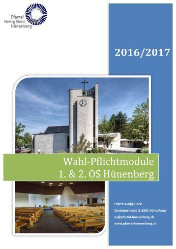 Wahl-Pflichtmodule Katalog 2016-17