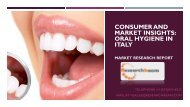 Consumer and Market Insights  Oral Hygiene in Italy