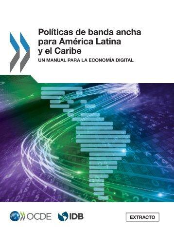 Políticas de banda ancha para América Latina y el Caribe