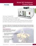 Fiber Optic Multiplexer Catalog - Page 5