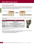Fiber Optic Multiplexer Catalog - Page 6