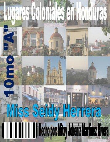Lugares Coloniales en Honduras