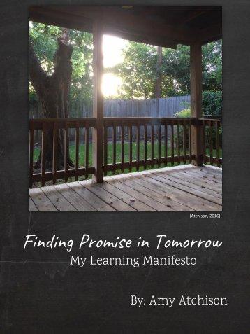 Atchison_EoL3_Learning Manifesto
