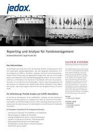 Lloyd Fonds - Jedox