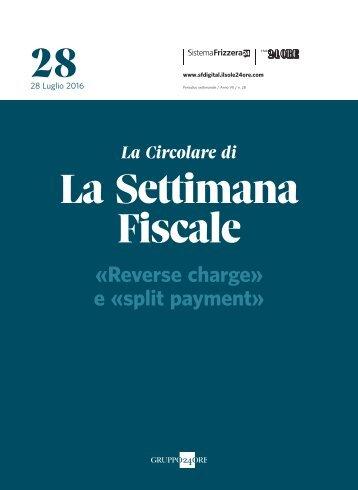 28 La Settimana Fiscale