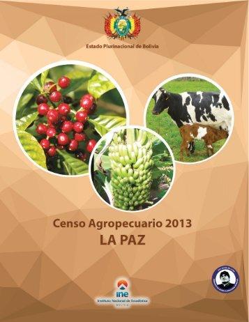 Censo Agropecuario 2013 LA PAZ