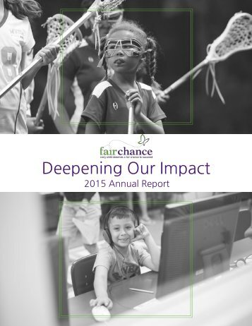 Fair Chance Annual Report 2015