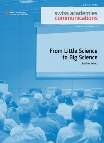 From Little Science to Big Science