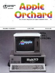 The Premier Magazine for Apple Computer Users