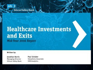 Healthcare Investments and Exits