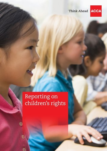 Reporting on children's rights