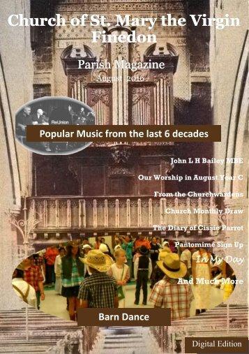 August 2016 Parish Magazine