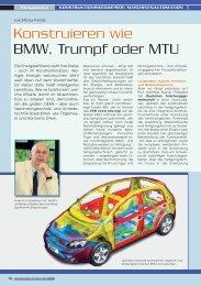 Konstruieren wie BMW, Trumpf oder MTU - Harmonic Drive AG