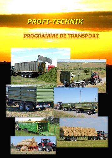 Programme de transport Francais