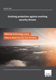 Evolving protection against evolving security threats