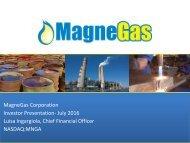 MagneGas+Investor+Presentation+July+2016