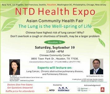 Houston Health Fair (ES)