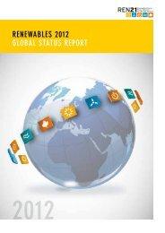 RenewableS 2012 GlObal STaTUS RePORT - Ren21 Map