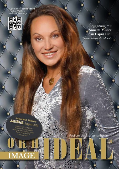 Orhideal IMAGE Magazin - August 2016