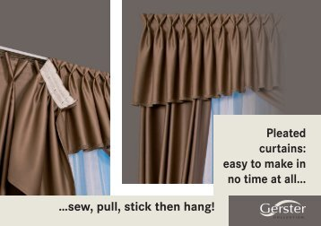 Gerster Pleated Curtains