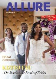 Allure Vanguard the wedding edition